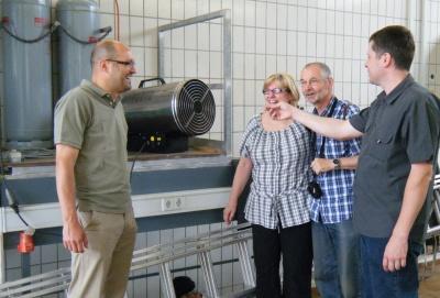 130622 - HP Bauhof - Gasbrennerheizung - Werkstatt